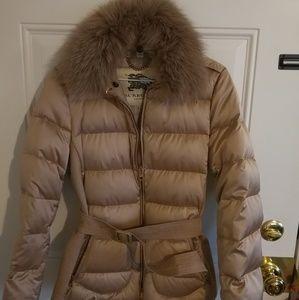 Burberry London goose down coat size  M